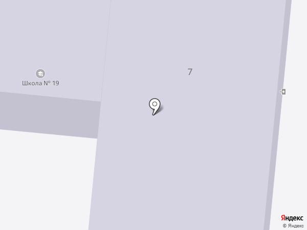 Средняя общеобразовательная школа №19 на карте Иваново