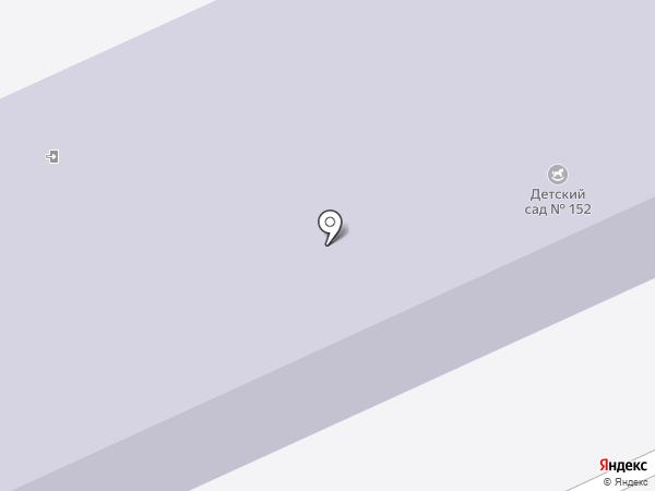 Детский сад №152 на карте Иваново