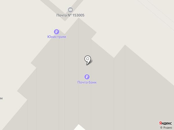 Почтовое отделение №5 на карте Иваново