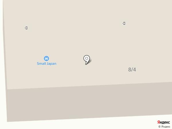 Омега на карте Костромы