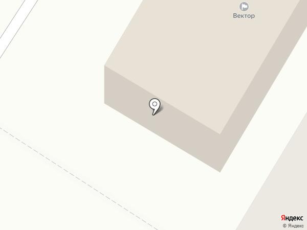 Вектор на карте Иваново