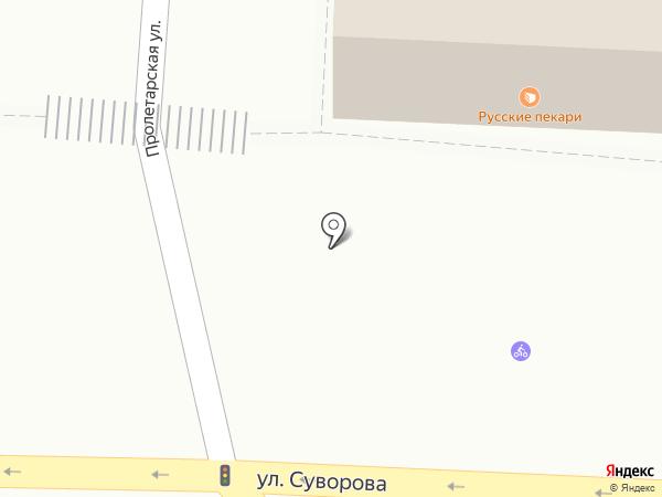 Русские пекари на карте Иваново