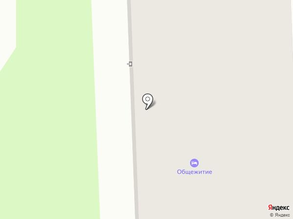 Общежитие на карте Богородского