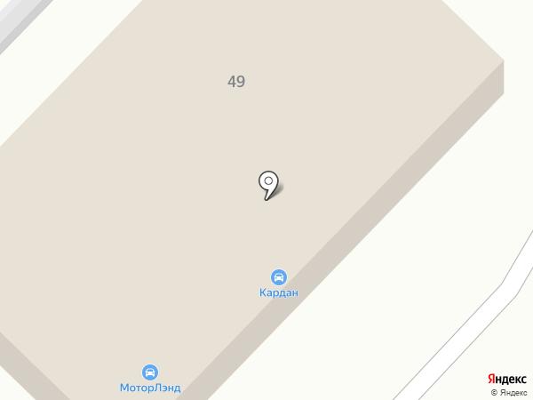 Кардан на карте Иваново