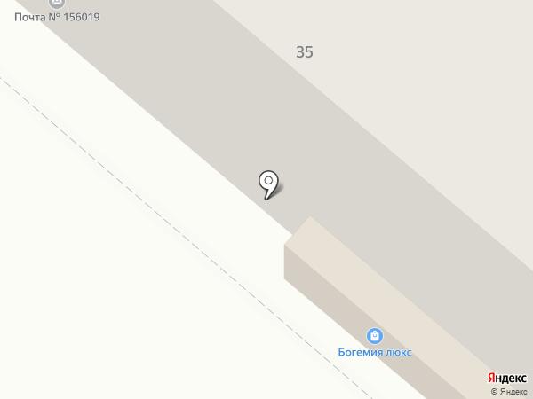 Аптека №91 на карте Костромы