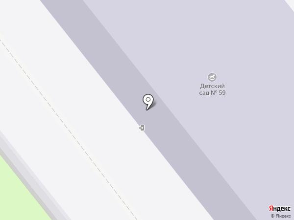 Детский сад №59 на карте Иваново