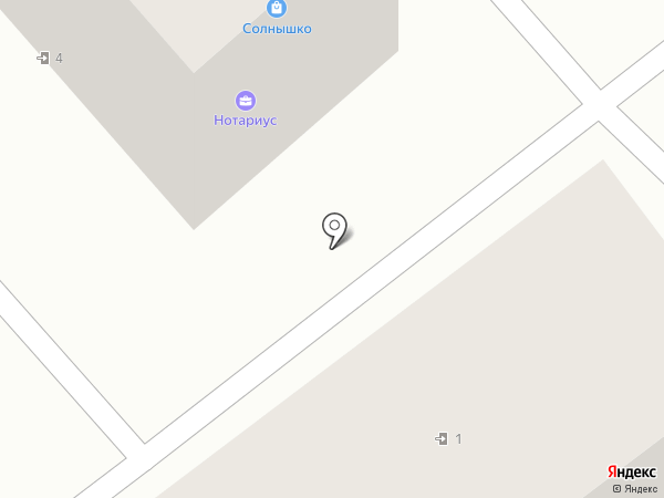 Нотариус Ивановский И.Г. на карте Новокубанска