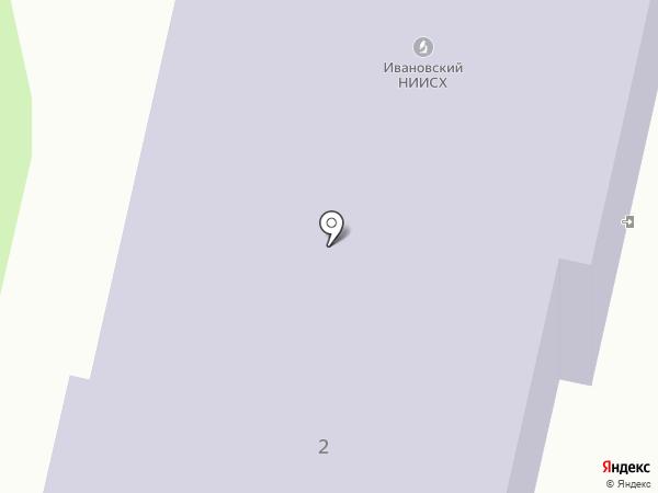 Ивановский НИИ сельского хозяйства Российской Академии Сельскохозяйственных Наук на карте Богородского