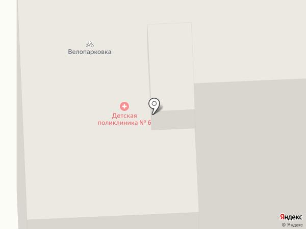 Детская поликлиника №6 на карте Иваново