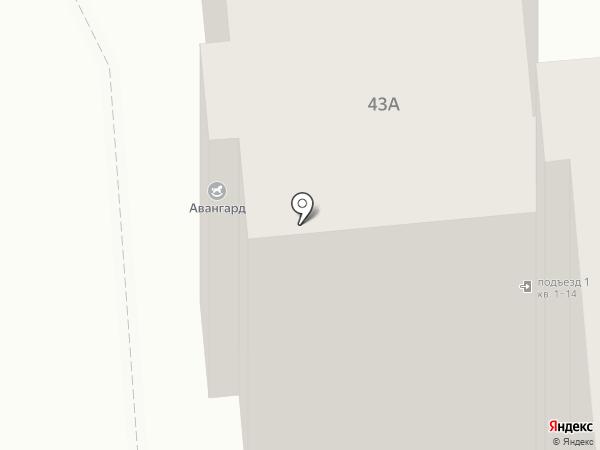 Продовольственный магазин на ул. Свободы на карте Иваново