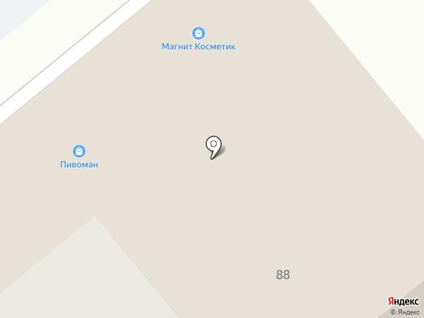 БУлавка на карте Иваново
