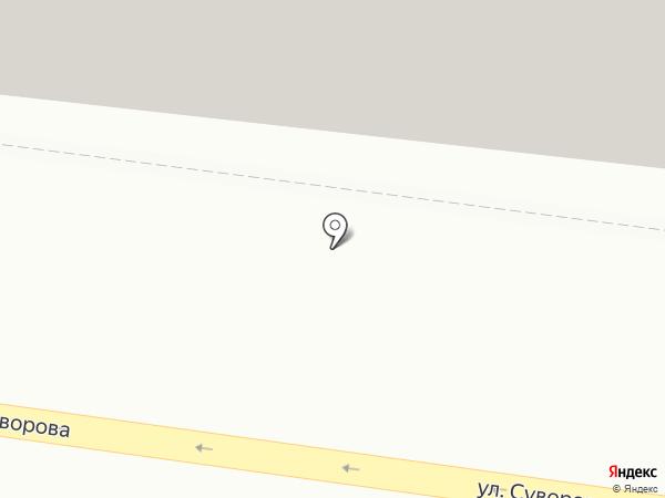 Магазин женской одежды на ул. Суворова на карте Иваново