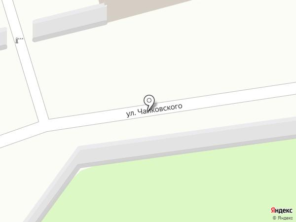 Городской оздоровительный центр, МП на карте Иваново