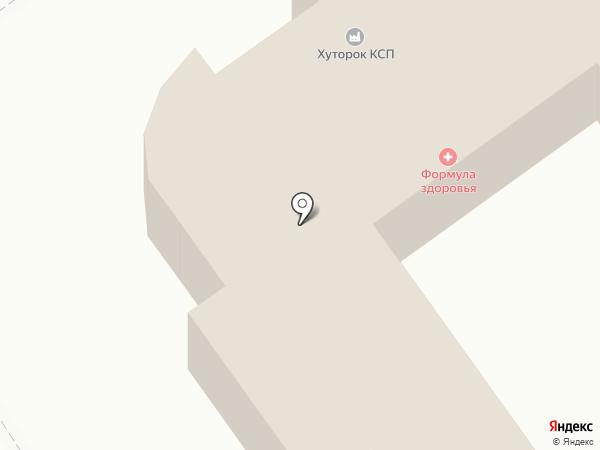 Хуторок, ЗАО на карте Новокубанска