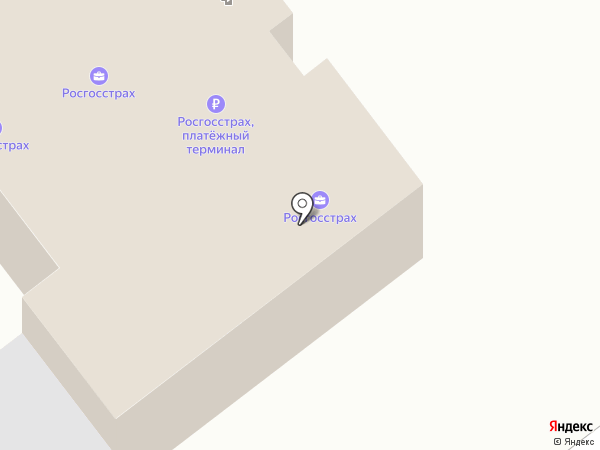 Росгосстрах банк, ПАО на карте Иваново