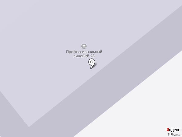 Ивановский колледж легкой промышленности на карте Иваново