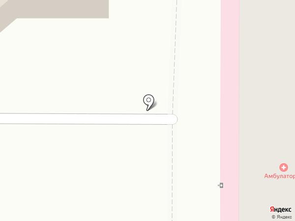 Поликлиника №1 на карте Костромы
