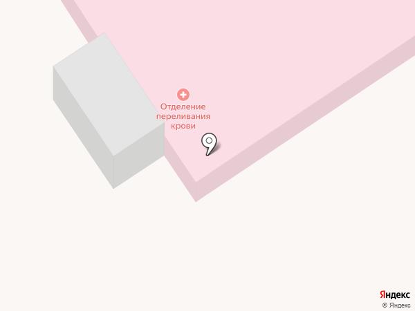Центральная районная больница Новокубанского района на карте Новокубанска