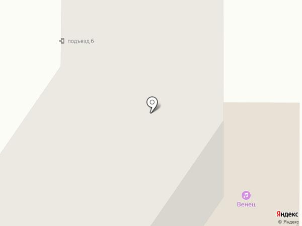 Венец, МБУ на карте Костромы