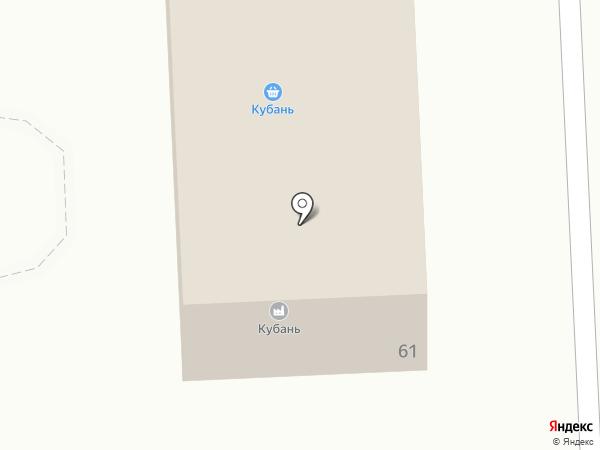 Фирменный магазин на карте Новокубанска