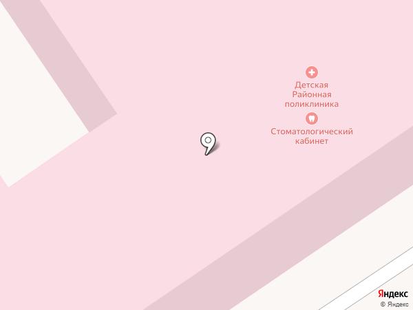 Центральная районная детская поликлиника на карте Новокубанска