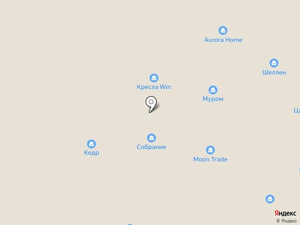СТРОЙДЕПО на карте Караваево