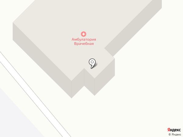 Амбулатория на карте Глубокого
