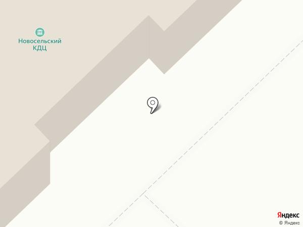 Культурно-досуговый центр на карте Глубокого
