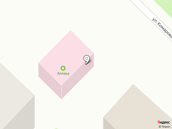 Аптечный пункт на карте Глубокого