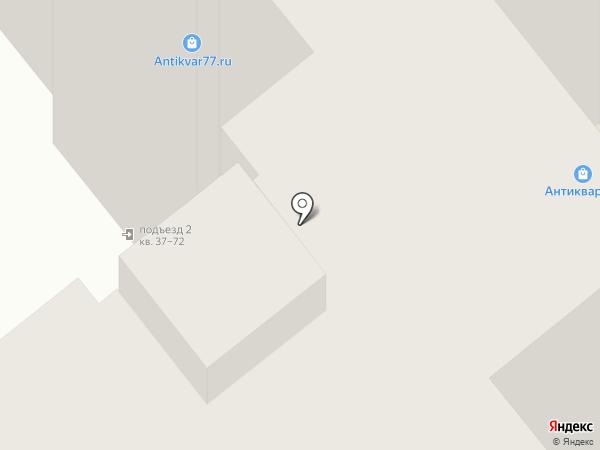 Элегантный силуэт на карте Иваново