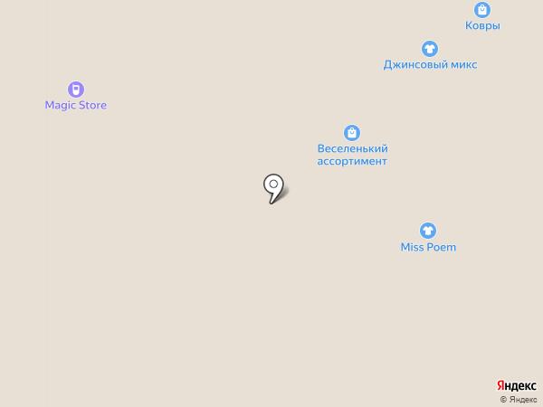 Джинсовый микс на карте Иваново