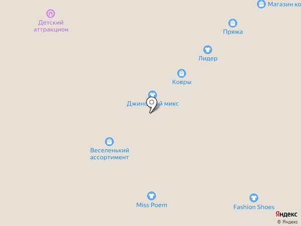 Пряжа на карте Иваново