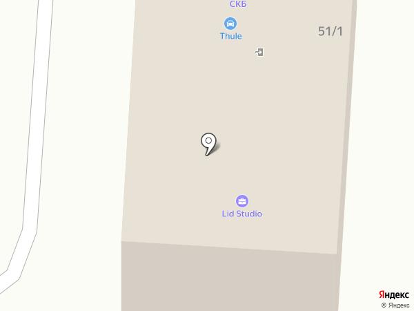 THULE-Иваново на карте Иваново