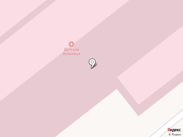 Областная детская клиническая больница на карте Иваново