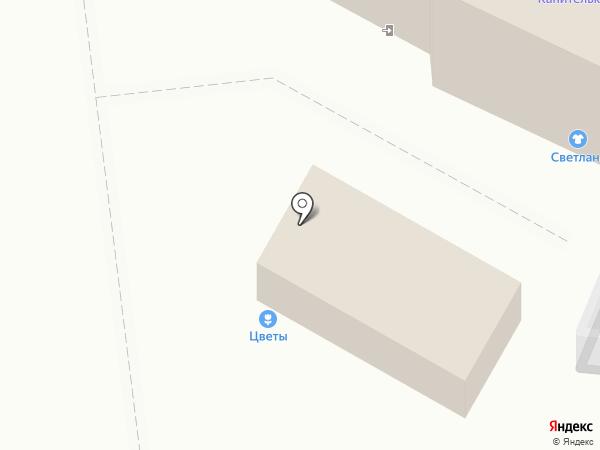 Канителька на карте Иваново