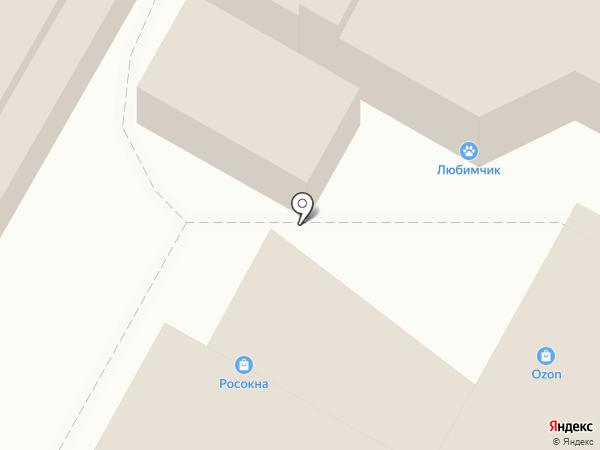 Меланжист на карте Иваново