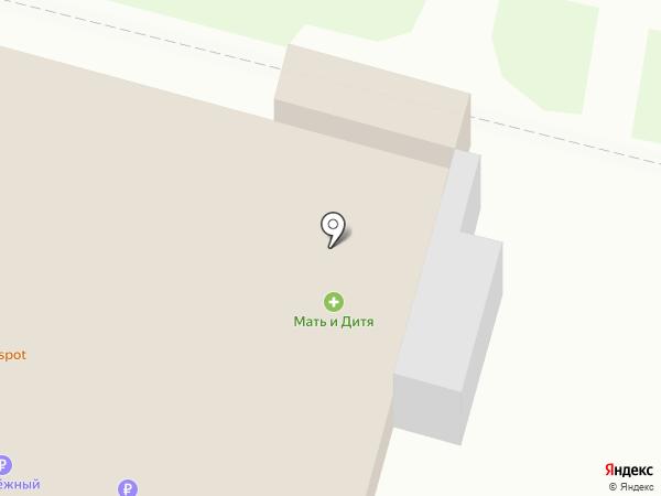 Магазин спутникового оборудования на карте Новокубанска