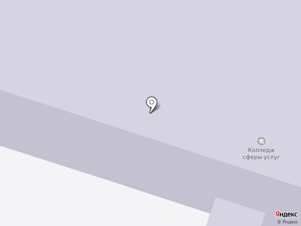 Ивановский колледж сферы услуг на карте Иваново