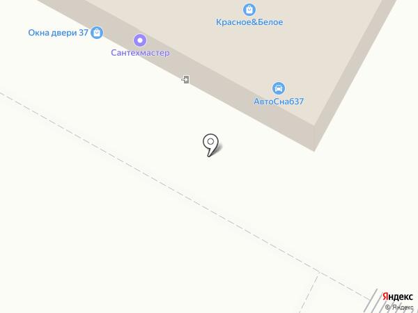 Магазин крепежа на карте Иваново