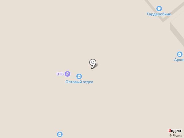 Текстильный дом на карте Иваново