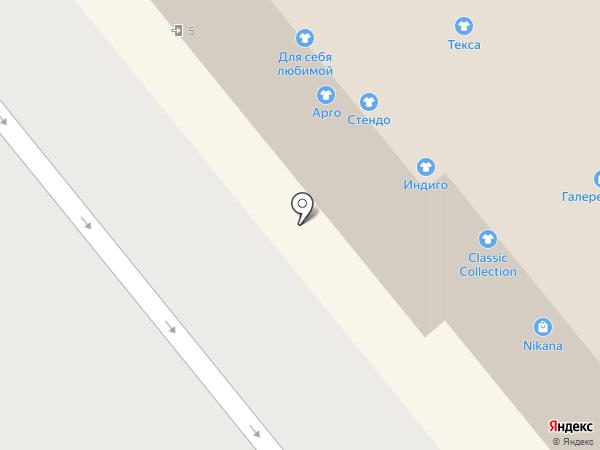 Магазин женской одежды на карте Иваново