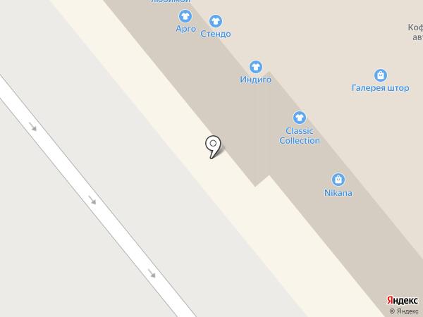 Стендо на карте Иваново