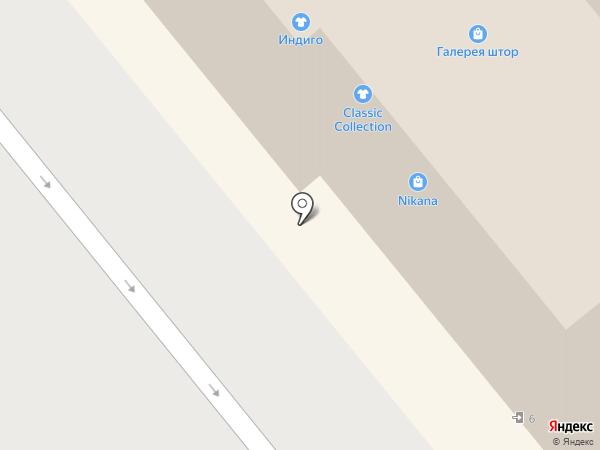 Индиго на карте Иваново