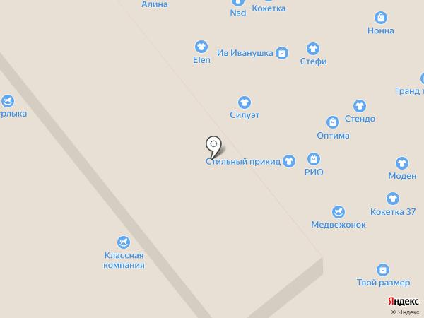 Нонна на карте Иваново