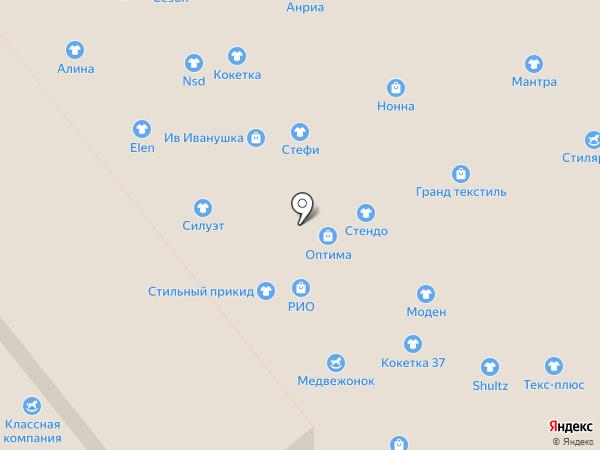 Подсолнух на карте Иваново