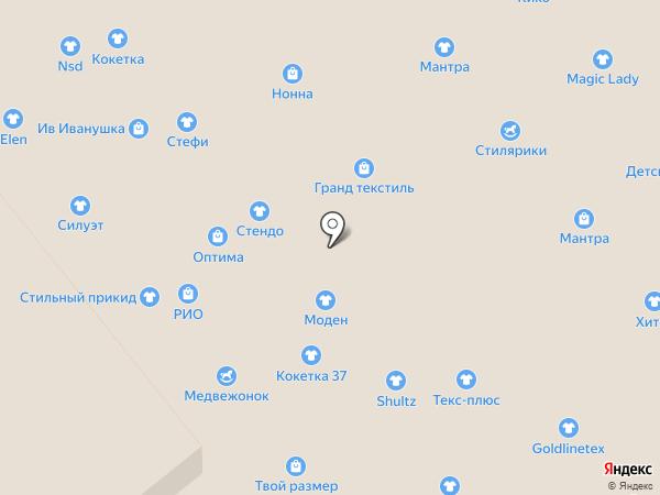 Кико на карте Иваново