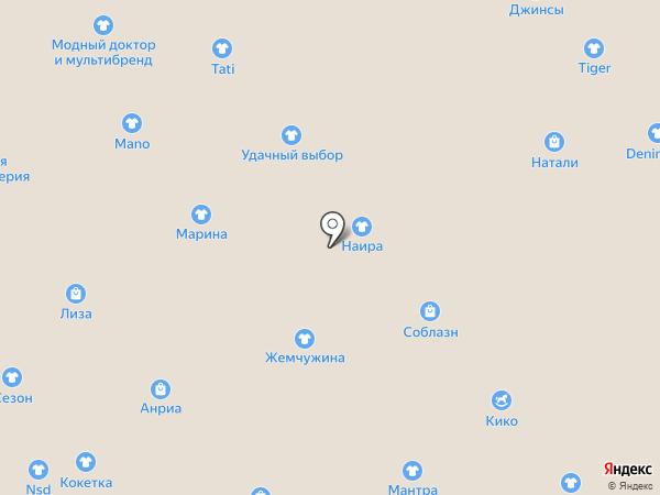 Трикотаж Натали на карте Иваново