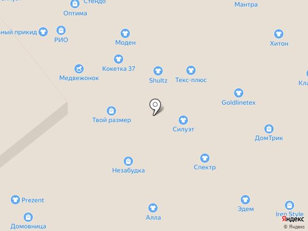 Мантра на карте Иваново