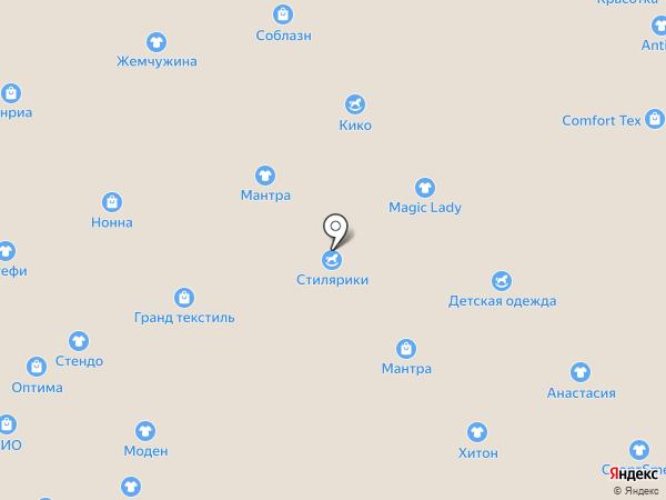 Глория на карте Иваново