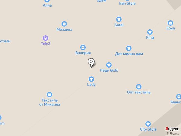 Мадонна на карте Иваново